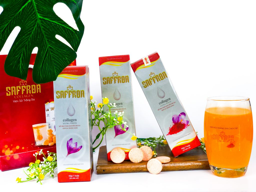 Saffron collagen 3 in 1